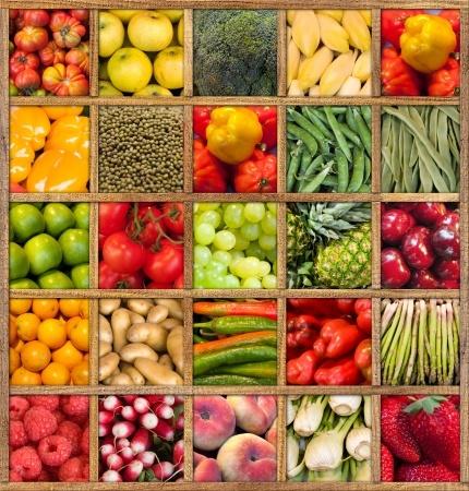 פירות וירקות טריים - מסייעים בניקוי הגוף וטיפול בדלקת