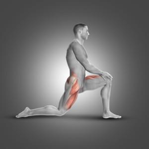 לאנג' / מכרע - תרגיל המשפיע על שרירי הרגליים, האגן והגב