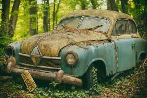 רכב שלא עבר טיפולי תחזוקה בזמן :)